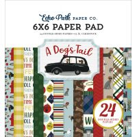 """Echo Park Double-Sided Paper Pad 6""""X6"""" 24/Pkg NOTM463157"""