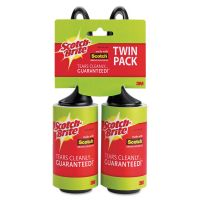 Scotch-Brite Lint Roller, 2/Pack MMM836RS56TPP