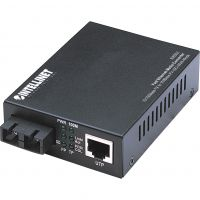 Intellinet 10/100 Multi-Mode Media Converter, SC, 1.24 miles SYNX3434692