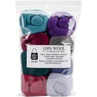 "Wool Roving 12"" .25oz 8/Pkg NOTM367916"