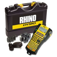 DYMO Rhino 5200 Industrial Label Maker Kit, 5 Lines, 4 9/10w x 9 1/5d x 2 1/2h DYM1756589