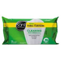 Sani Professional Multi-Surface Cleaning Wipes, 7 x 9, White, Citrus Scent, 75/Pack, 20 PK/Carton NICA972FW