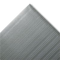 Crown Ribbed Anti-Fatigue Mat, Vinyl, 27 x 36, Gray CWNFJS736GY