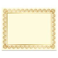 Geographics Laser/Inkjet Gold Foil Certificate GEO47830