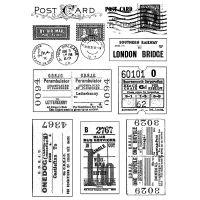 """Crafty Individuals Unmounted Rubber Stamp 4.75""""X7"""" Pkg NOTM082661"""