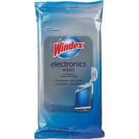Windex&reg Electronics Wipes SJN642517CT