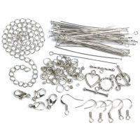 Jewelry Basics Metal Findings 134/Pkg NOTM479878