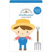Dooblebug Doodle-Pops 3D Stickers NOTM369182