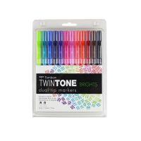 Twintone Marker Set 12/Pkg TOM61500