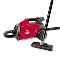 Sanitaire Commercial Compact Canister Vacuum, 10lb, Red EURSC3683B