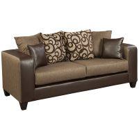 Flash Furniture Riverstone Object Espresso Chenille Sofa FHFRS412001SGG