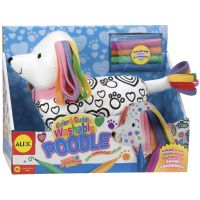 ALEX Toys Color & Cuddle Washable Poodle Kit NOTM407432