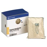 """First Aid Only SmartCompliance Triangular Sling/Bandage, 40"""" x 40"""" x 56"""" FAOFAE6007"""