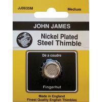 Nickel Plated Steel Crimp Top Thimble NOTM071208