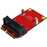 StarTech.com Half Size to Full Size Mini PCI Express Adapter SYNX2907461