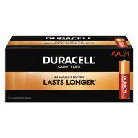Duracell Quantum Alkaline Batteries, AA, 24/BX DURQU1500BKD