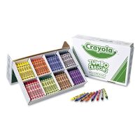 Crayola Jumbo Classpack Crayons, 25 Each of 8 Colors, 200/Set CYO528389