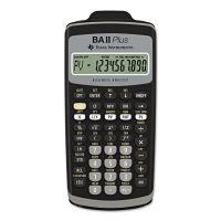 Texas Instruments BAIIPlus Financial Calculator, 10-Digit LCD TEXBAIIPLUS