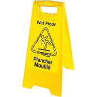 Impact Products English/Spanish Wet Floor Sign IMP9152W