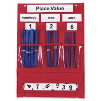 Learning Resources Counting & Place Value Pocket Chart   LRNLER2416