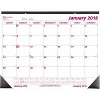 Brownline Monthly Deskpad Calendar, Chipboard, 22 x 17, 2019 REDC1731