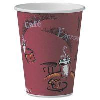 Dart Bistro Design Hot Drink Cups, Paper, 12oz, 300/Carton SCCOF12BI0041