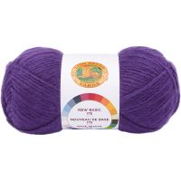 Lion Brand New Basic 175 Yarn - Eggplant NOTM065534