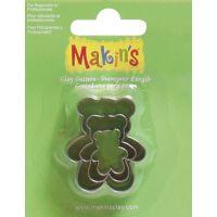 Makin's Clay Cutters 3/Pkg NOTM156474