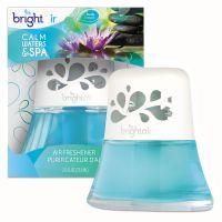 BRIGHT Air Scented Oil Air Freshener, Calm Waters and Spa, Blue, 2.5oz BRI900115EA