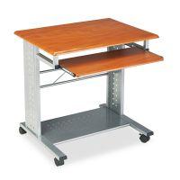 Safco Mayline Empire Mobile PC Cart, 29-3/4w x 23-1/2d x 29-3/4h, Medium Cherry MLN945MEC