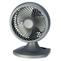 """Holmes Blizzard 9"""" Three-Speed Oscillating Table/Wall Fan, Charcoal HLSHAOF90NUC"""