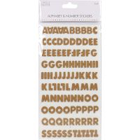 Simply Creative Alphabet & Number Stickers NOTM440100