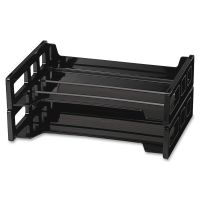 OIC Side-Loading Stackable 2/PK Desk Trays OIC21022