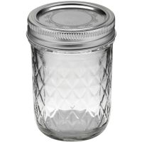 Ball Quilted Crystal Jelly Jar NOTM404284