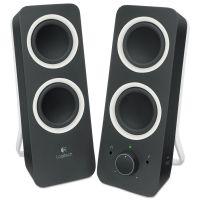 Logitech Z200 Multimedia 2.0 Stereo Speakers, Black LOG980000800