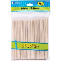 Woodsies Bare Jumbo Craft Sticks NOTM426948