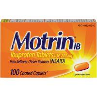 Motrin Ibuprofen Caplets JOJ048101