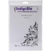 """IndigoBlu Cling Mounted Stamp 9""""X6.5"""" NOTM413694"""