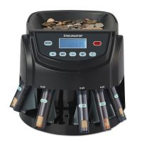 SteelMaster Coin Counter/Sorter, Pennies through Dollar Coins MMF200200C