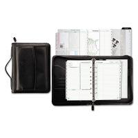 Day-Timer Vinyl/Microfiber Briefcase Starter Set, 5 1/2 x 8 1/2, White DTM44531