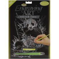 Silver Foil Engraving Art Kit   NOTM257409