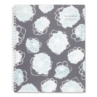 AT-A-GLANCE Academic Planners, 11 x 8 1/2, Mint Flora, 2018-2019 AAG1103905A