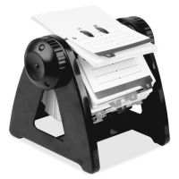 Lorell Refillable Rotary Card File LLR01032