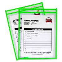 C-Line Neon Colored Stitched Shop Ticket Holder CLI43913
