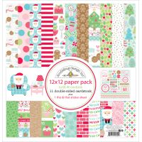 "Doodlebug Double-Sided Paper Pack 12""X12"" NOTM095145"