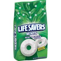 Life Savers Individually Wrapped Wint-O-Green Mints Hard Candy MRS21524