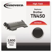 Innovera Remanufactured TN450 High-Yield Toner, Black IVRTN450