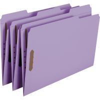 Smead Colored Top-Tab Fastener File Folders SMD17440