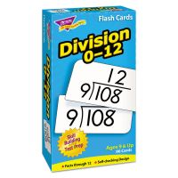 TREND Skill Drill Flash Cards, 3 x 6, Division TEPT53106