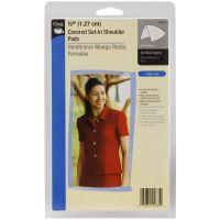 """1/2"""" Covered Set-In Shoulder Pads 2/Pkg NOTM103558"""